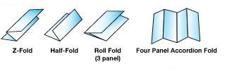 Brochures Fold Type