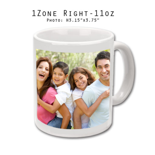 Mugs 11 oz White Printed Right - Eimpression.ca