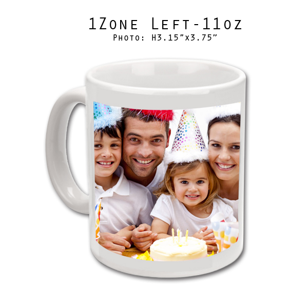 Mugs 11 oz White Printed Left- Eimpression.ca