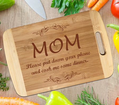 Bamboo Cutting Board with Engraving