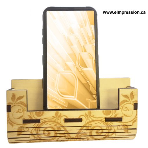 Wood Phone Stand and Tablet