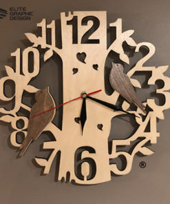 LCL0001-Clock-Antique+Oval+Cercle+Wall+ClockA