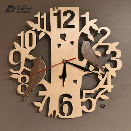 LCL0001-Clock-Antique+Oval+Cercle+Wall+ClockA