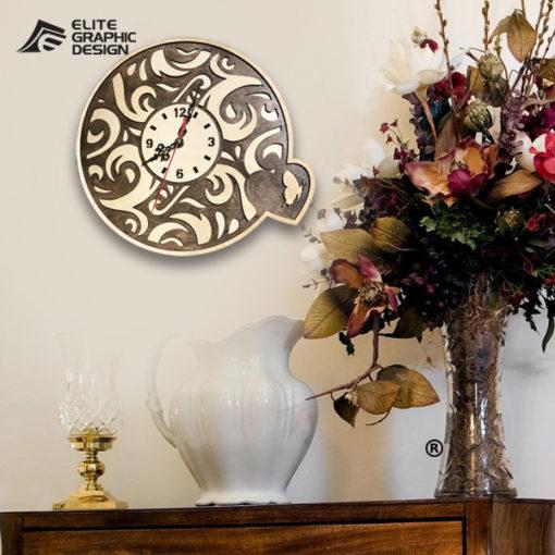 LCL0002-Clock-Antique+Oval+Cercle+Wall+ClockA