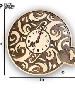 LCL0002-Clock-Antique+Oval+Cercle+Wall+ClockA
