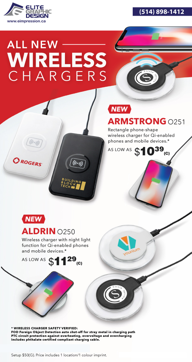 Wireless Chargers Armstrong - Aldrin New - elite Graphic Design