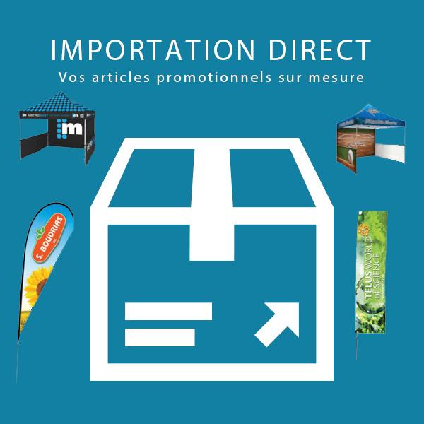 Enseigne Drapeau E impression ca, Articles promotionnels, Elite Importation Direct