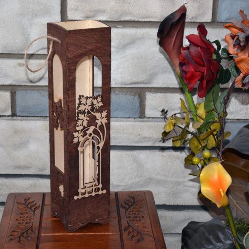 L2054--Hande Made Christmas Elegant Wine Box
