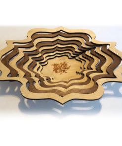Bol en bois superposé