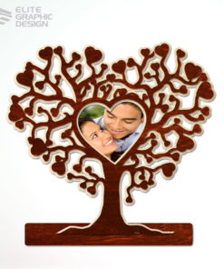 Personalized Wood Photo Frames laser cut and engraving
