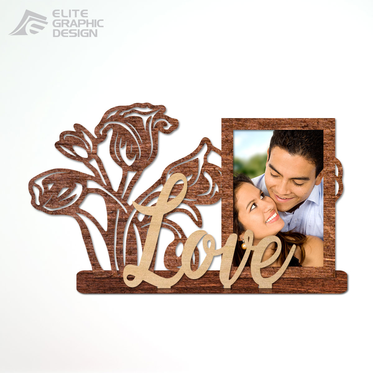 Wooden Photo Frames laser cut and engraving