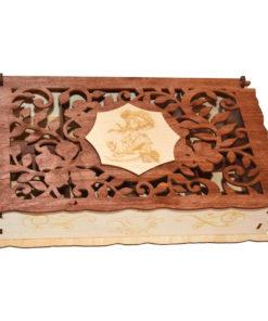 LATB1201--Boîte à Thé en Bois