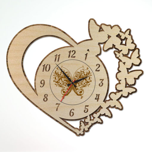 Clock-AntiqueOvalCercleWallClock