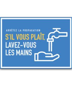 collants sur la santé et l'hygiène Lavez vous les mains