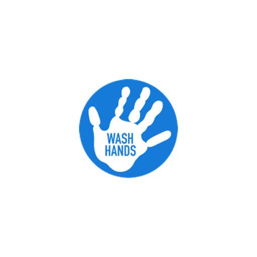Wash Hands Covid-19 Vinyl