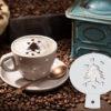Cedar Coffee Stencil