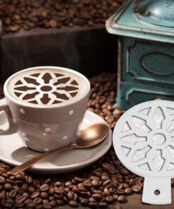 Design Coffee Stencil