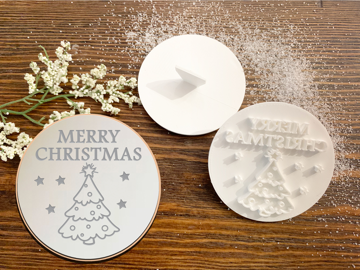 Merry Christmas – Cookie Stamp