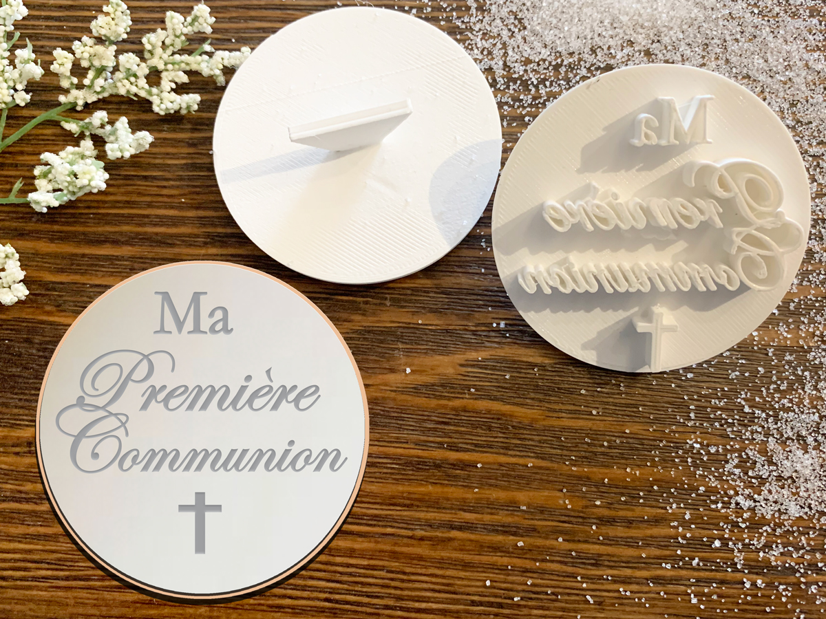 Ma Première Communion – Cookie Stamp