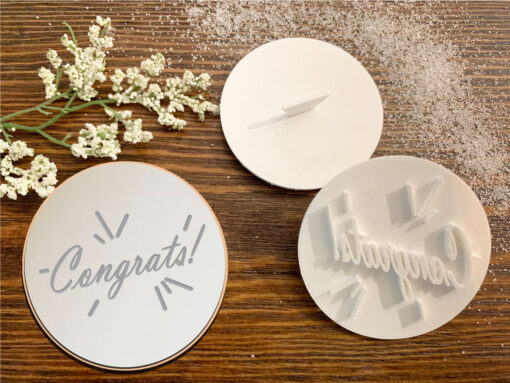 Congrats – Cookie Stamp