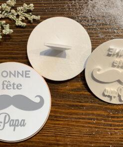 Bonne Fête Papa – Cookie Stamp