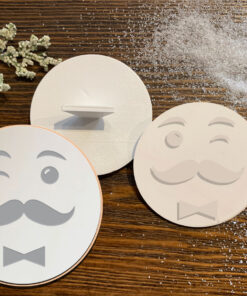 Men Face – Cookie Stamp