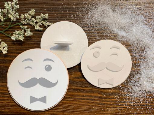 Men Face – Cookie Stamp