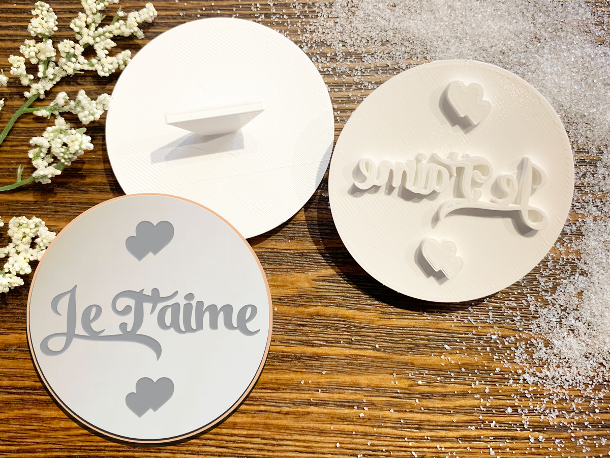 Je t'aime – Cookie Stamp
