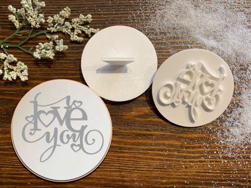 I Love You – Cookie Stamp