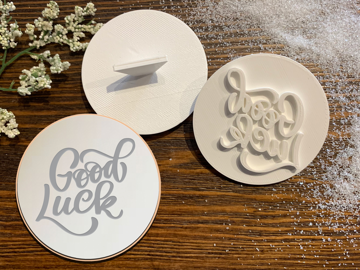 Good Luck - Cookie Stamp