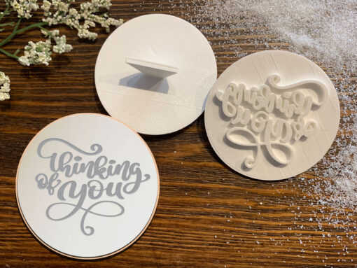 Thinking of You - Cookie Stamp