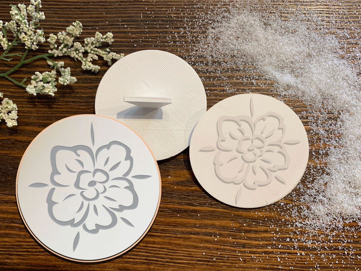 Flowers - Cookie Stamp