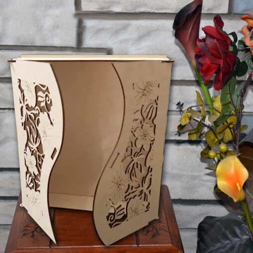 Gift Wood Box Laser Cut image