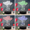 Hearts RGB Led Acrylic Light Lamp Color Laser Cut