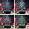 Christmas Tree RGB Led Acrylic Light Lamp Color Laser Cut