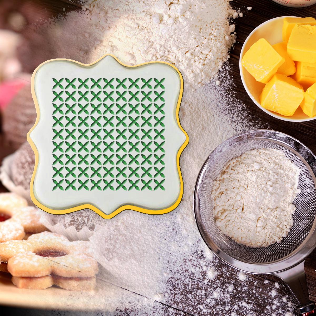 Étampe à biscuit, Étampe de fondant de biscuit pour la décoration de cupcake, biscuits de sucre, argile et savon...