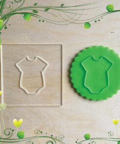Acrylic Outbosser Embosser cookies stamps for sugar paste cupcakes Kids Baby
