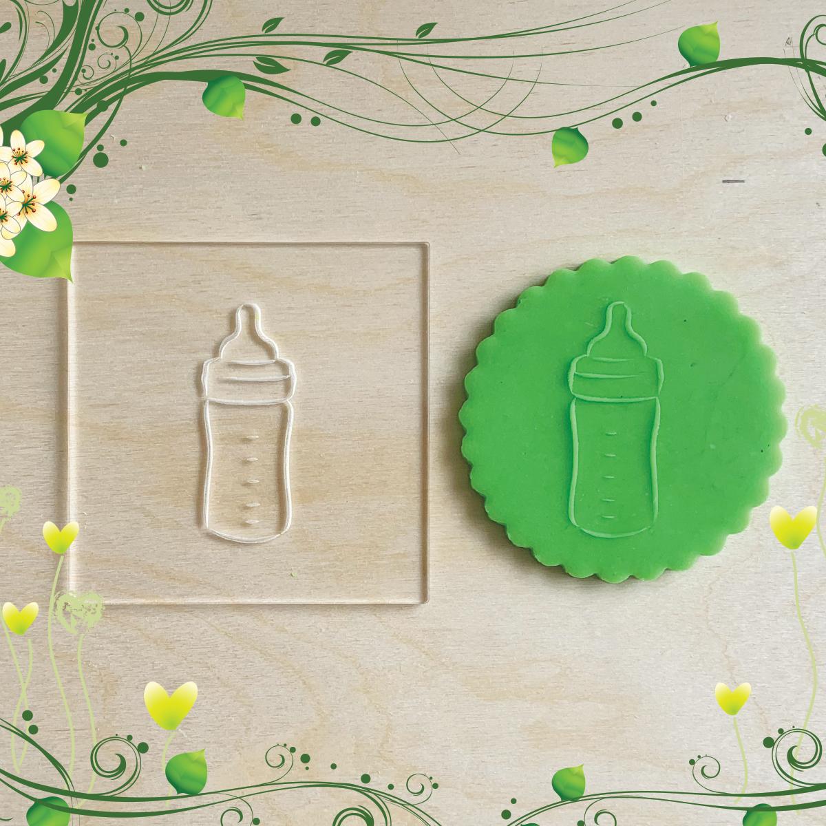 Tampons de biscuits en acrylique Embosseur pour cupcakes en pâte à sucre Bébé enfants