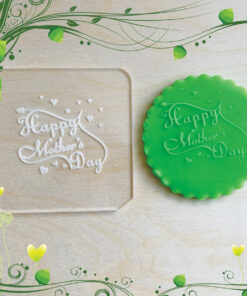 Acrylic Outbosser Embosser cookies stamps for sugar paste cupcakes Mother day