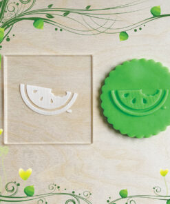 Acrylic Outbosser Embosser cookies stamps for sugar paste cupcakes Food