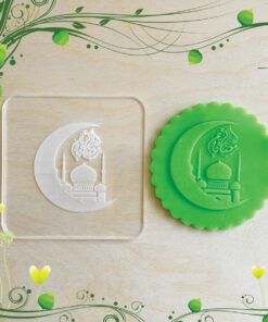 Acrylic Outbosser Embosser cookies stamps for sugar paste cupcakes Ramadan