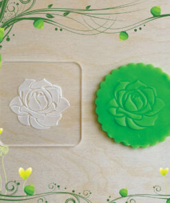 Acrylic Outbosser Embosser cookies stamps for sugar paste cupcakes Gift Flower